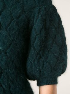 ALEXANDER MCQUEEN - textured knit top 10