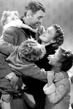 It's a Wonderful Life (1946).   Based on short story The Greatest Gift by Philip Van Doren Stern (1943).
