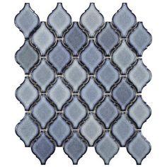 Discount Glass Tile Store - Arabesque Backsplash Tile - Orion, $8.92 (http://www.discountglasstilestore.com/arabesque-backsplash-tile-orion/)
