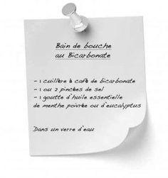 Bain de bouche bicarbonate : Recettes simples et économiques