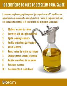 Clique na imagem e veja os 10 benefícios de óleo de gergelim para a saúde…