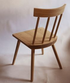 """Ceci n'est pas une """"stick chair"""". Nor a Windsor, though it's got plenty in common with both. Photo by Chris Schwarz."""