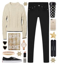 """Today has been cancelled. It's a Snow Day!"" by lgb321 ❤ liked on Polyvore featuring L.L.Bean, Kate Spade, Chanel, New View, FOSSIL, Vans, Topshop, MAC Cosmetics, Casetify and women's clothing"
