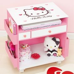 Hello Kitty PC Desk Wagon Sanrio from Japan | eBay