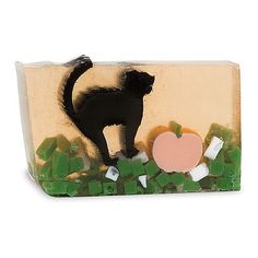 Scaredy Cat Bar Soap by Primal Elements. Great for Halloween!