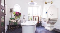Home Tour: Rustic Modern Glamour in Paris via @mydomaine