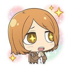 Attack On Titan Comic, Attack On Titan Fanart, Anime Chibi, Kawaii Anime, Levi And Petra, Aot Characters, Best Waifu, Titans Anime, Line Sticker
