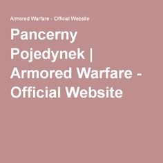 Pancerny Pojedynek | Armored Warfare - Official Website