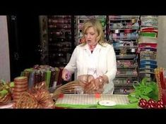 How to Make a Deco Mesh Wreath   Leisure Arts Interesting -bows