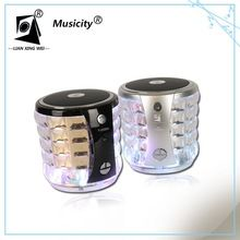 360 degrees Party night effect bluetooth speaker with led light different changing color