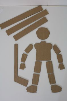 Tally's Treasury:  Cardboard Marionettes