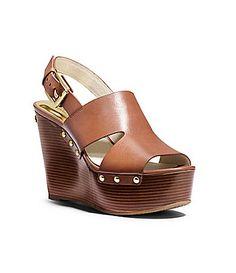MICHAEL Michael Kors Carina Wedge Sandals #Dillards