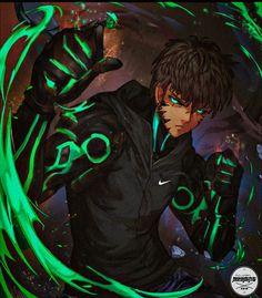 Fantasy Character Design, Character Design Inspiration, Character Art, Black Anime Guy, Anime Guys, Demon King Anime, Anime Gangster, Black Cartoon Characters, Black Comics