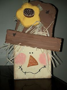 Crafty Nini: Fall/Halloween Wood Crafts