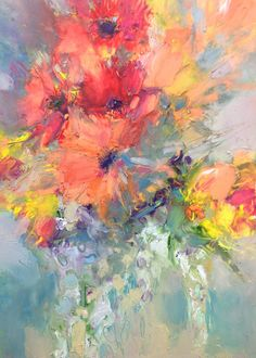 Hot Colours by Janette Phillips