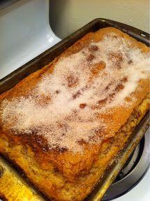 College Girl, College Food: Cinnamon Sugar Swirl Quick Bread