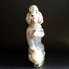 Vintage Poodle Decanter by TTLGFurnishings on Etsy