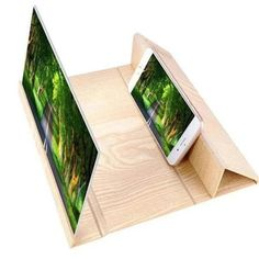 Fashion Phone Screen Amplifier Tourism c.g tourism place Gadgets And Gizmos, Cool Gadgets, Technology Gadgets, Tech Gadgets, Hifi Video, Mode 3d, Wood Supply, Eye Strain, Cool Inventions