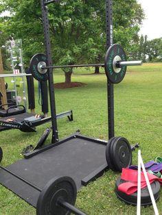 Unistrut squat rack for sports unistrut squat rack for Diy squat rack metal