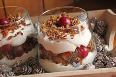 Chefkoch.de Rezept: Weihnachtliches Lebkuchen - Schicht - Dessert