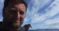 Photo sent from the boat La Mie Caline, on November 11th, 2016 - Photo Arnaud Boissieres Photo envoyée depuis le bateau La Mie Caline  le 11 Novembre 2016 -  Photo Arnaud Boissieresphoto d'hier de  porto santoa cote de madere