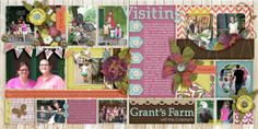 Siply Blocked | Garden View Template by Little Green Frog Designs & (mainly) Garden View kit by Etc. by Danyale