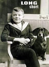 vintage dachshund postcards - Google Search