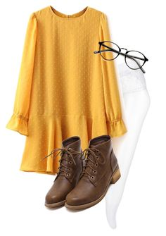 """Dodie Clark inspired"" by lukeisalibero ❤ liked on Polyvore"
