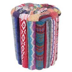 Recycled wool - Oooh otomannn!