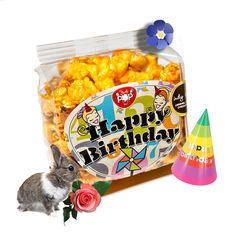 Just Pop In! offers gourmet popcorn favors for celebrations of all kinds! Choose from a wide variety of gourmet popcorn flavors and occasion labels or contact us to create a custom label.