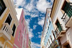 Historic Buildings, Pelourinho, Salvador, Brazil