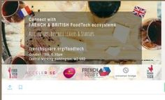 Connect with FRENCH & BRITISH FOODTECH ecosystem Tickets, Wed, 19 Oct 2016 at 18:30   Eventbrite