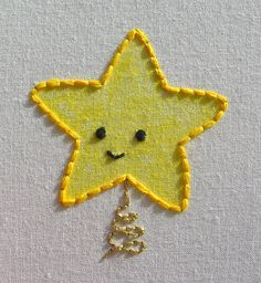 shine Hand Embroidery Tutorial, Embroidery Applique, Cross Stitch Embroidery, Embroidery Patterns, Projects For Kids, Sewing Projects, Project Ideas, Craft Ideas, Textile Art