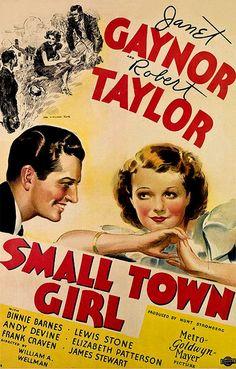 Small Town Girl (1936) - Janet Gaynor,  Robert Taylor,  Binnie Barnes, Lewis Stone, Andy Devine