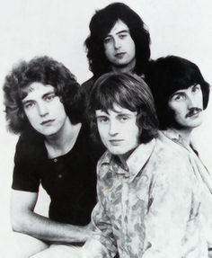 THE NEW YARDBIRDS .... 1968 ....... ( changed their name to LED ZEPPELIN ) . ...... Jimmy Page .... .Robert Plant ..... John Paul Jones ...... .John Bonham