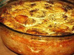 Reteta culinara Cartofi gratinati din categoria Aperitive / Garnituri. Cum sa faci Cartofi gratinati Romanian Food, Lasagna, Cauliflower, Food And Drink, Potatoes, Vegetables, Cooking, Ethnic Recipes, Inspiration