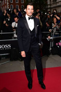 "David Gandy - ""Meanwhile on the MOTY red carpet... - GQ.co.uk"""