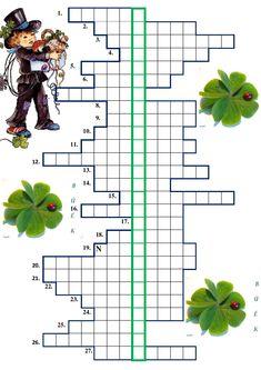 újévi rejtvény www.juditsuli.blogspot.hu Crossword, Puzzle, Montessori, Crossword Puzzles, Puzzles, Puzzle Games, Riddles