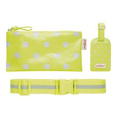 LITTLE SPOT NEON LUGGAGE ACCESSORIES GIFT SET - Cath Kidston