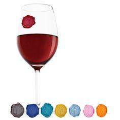 Marcador de copos - Wine Seal