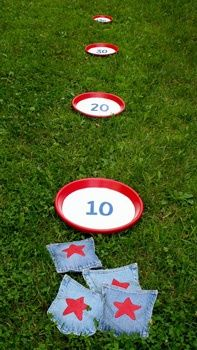Outside Games For Fourth of July or Anytime! - Things to Make and Do, Crafts and Activities for Kids - The Crafty Crow - rugged-life.com