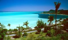 BUCKET LIST:The white sandy beaches with turquoise water in Bora Bora are very extravagant and are the most beautiful beaches in the world. This is one of the main reasons to why so many people visit Bora Bora. Tahiti, Bora Bora French Polynesia, Beaches In The World, Places Around The World, Around The Worlds, Romantic Destinations, Honeymoon Destinations, Romantic Getaways, Dream Vacations