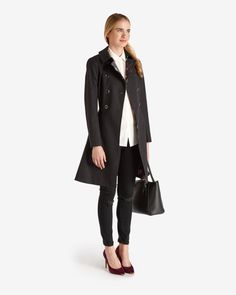 I own this duffle coat in Navy and I love it! Classic and tailored ...