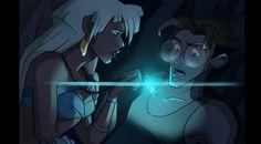 Atlantis Milo and Kida FAVORITE Disney  movie!