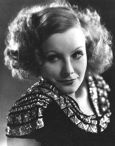Actress Greta Garbo (1905-1990)