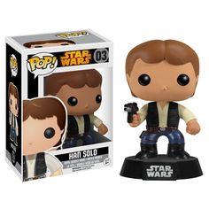 Star Wars Pop! Vinyl Bobblehead Han Solo [Re-Release]