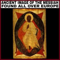 """Here is MORE irrefutable PROOF that the true image of the (Yahawashi) Christ and the real Jews/Israelites fare found all over Europe. These Israelites ruled for a 1000 years. These images only became """"white washed"""" during the renaissance era, when..."""