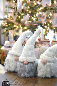 Tomte, Nisse, Christmas elves, Christmas trolls, Scandinavian Christmas trolls, Holiday Home tour, Christmas home tour
