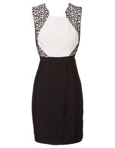 SEDUCE black pearl dress #derbyday #myerspringfashion