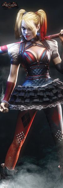 Buy DC Comics Batman Arkham Knight Harley Quinn - Door Poster - 53 x from Zavvi, the home of pop culture. Take advantage of great prices on Blu-ray, merchandise, games, clothing and more!